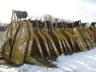 Quick Tach Attachments and King Kutter 3 point Equipment