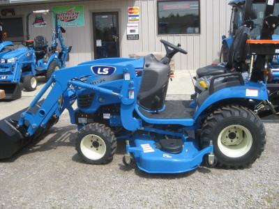 New LS Tractors and LS Tractor Dealers and New 3 point